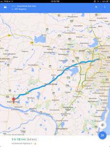 เส้นทางจาก ท่ารถ Chennai ไป เมืองกัญจีปุรัม