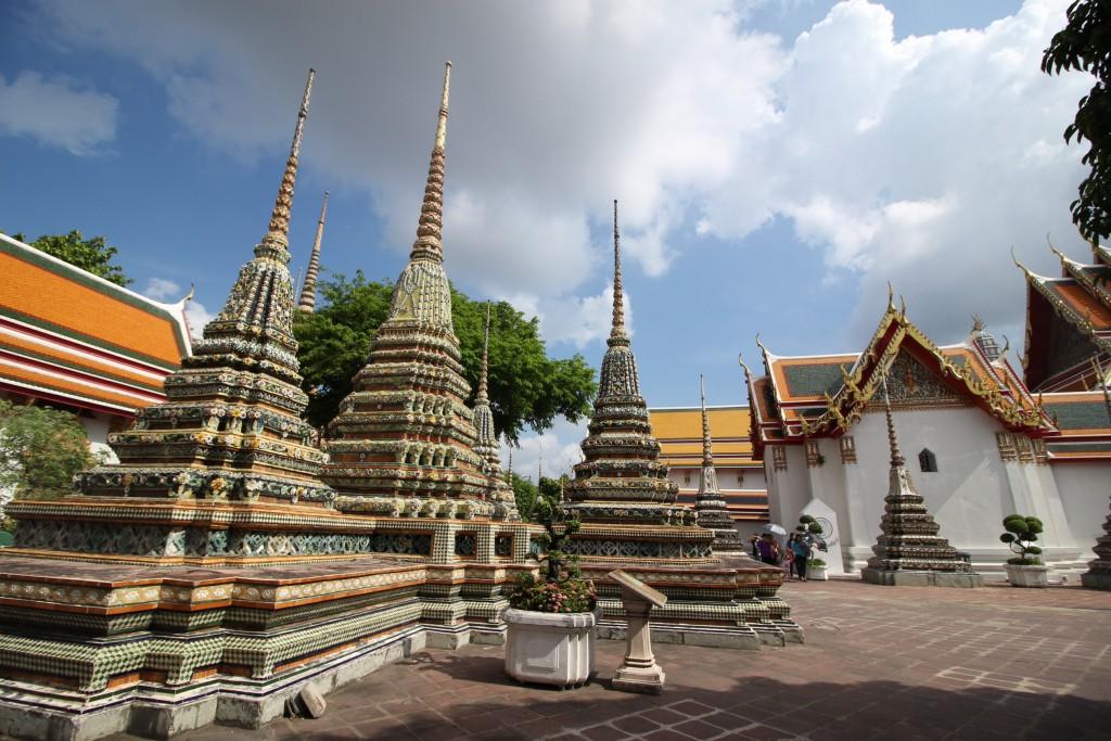 พระเจดีย์ในวัดโพธิ์มีจำนวนมากที่สุดในประเทศไทย