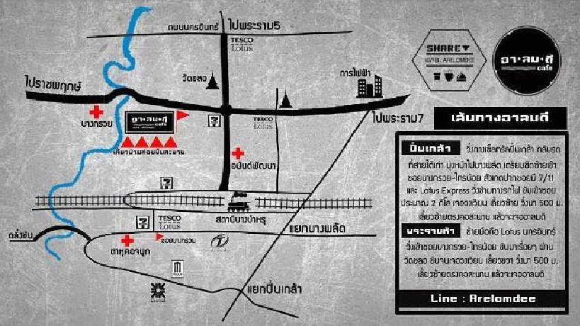 Aromd Map