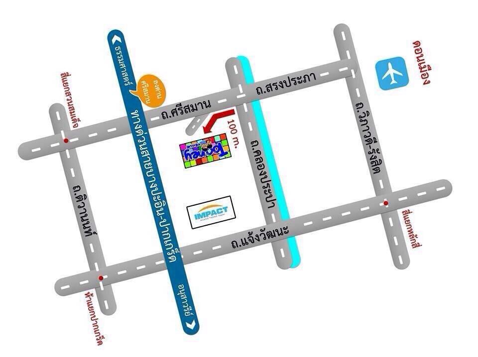 Tooney Venue Map