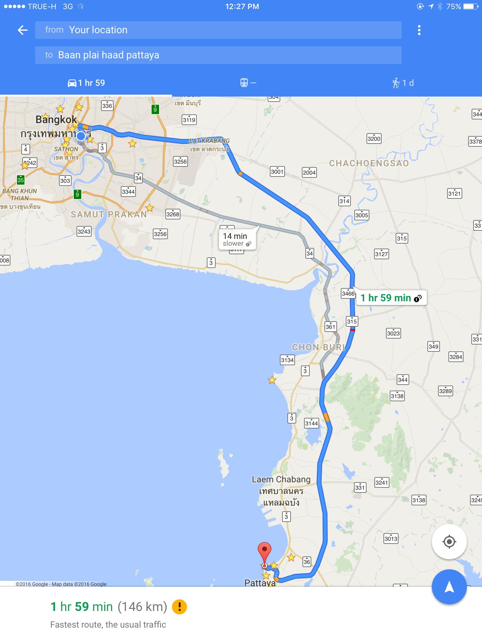 Baan Plai Haad Map
